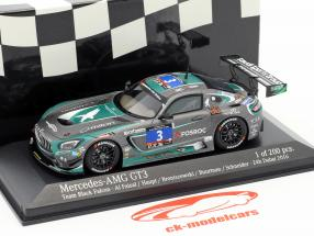 Mercedes-Benz AMG GT3 #3 24h Dubai 2016 Team Black Falcon 1:43 Minichamps