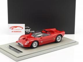 Alfa Romeo 33.2 Periscopio Presse Version 1967 rot 1:18 Tecnomodel