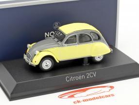 Citroen 2CV Dolly year 1985 rialto yellow / cormoran gray 1:43 Norev