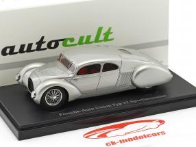 Porsche-Auto Union Typ 52 Sport berline argent / annuaire EN 2017 1:43 AutoCult