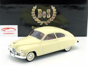 Packard DeLuxe Club Sedan 2 porte anno 1949 giallo chiaro 1:18 BoS-Models