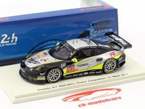 Porsche 911 RSR #93 24h LeMans 2017 Long, Al Faisal, Hedlund, Thiim 1:43 Spark