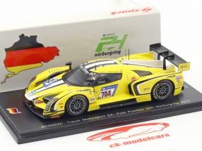 SCG003C #704 polo posizione 24h Nürburgring 2017 Traum Motorsport SA 1:43 Spark