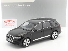 Audi Q7 Year 2015 orca black 1:18 Minichamps