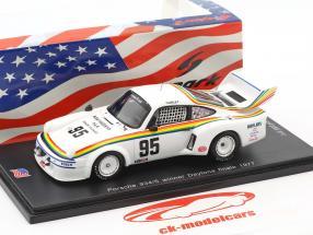 Porsche 934/5 #95 Winner final 250 miles Daytona 1977 Hurley Haywood 1:43 Spark