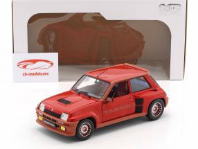Renault R5 Turbo 1 Ano de construção 1982 vermelho 1:18 Solido