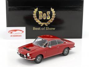 Simca 1200 S Bertone coupe year 1967 dark red 1:18 BoS-Models