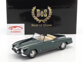 Lancia Aurelia PF200 cabriolet année de construction 1953 vert foncé métallique 1:18 BoS-Models
