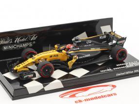 Robert Kubica Renault R.S.17 #46 essai Hungaroring 2017 1:43 Minichamps