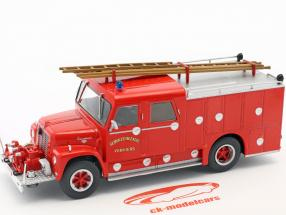 International Loadstar Wasterlain Verviers pompiers rouge 1:43 Atlas