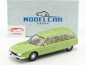 Citroen CX 2400 Super Break Serie I Baujahr 1976 grün metallic 1:18 Model Car Group