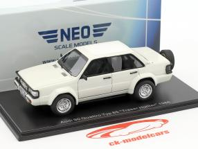 Audi 90 Quattro type 85 année de construction 1986 blanc 1:43 Neo