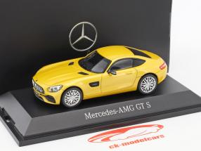 Mercedes-Benz AMG GT S Coupe solarbeam gelb metallic 1:43 Norev