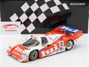Porsche 962 C Brun Motorsport #2 3 1000km Nürburgring 1987 Mass, Larrauri, Pareja 1:18 Minichamps