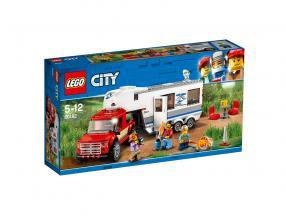 LEGO® City Pickup & Wohnwagen