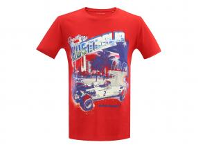 McLaren Greetings from Australia T-shirt rouge