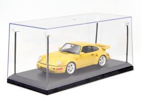 singolo vetrina con 4 mobile GUIDATO lampade per modello automobili in scala 1:18 Triple9