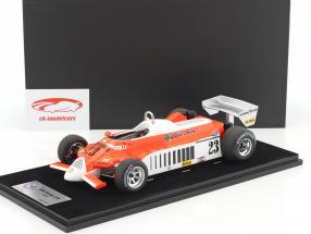 Bruno Giacomelli Alfa Romeo 179 #23 Allemagne GP F1 1980 avec vitrine 1:18 LookSmart