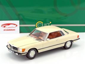 Mercedes-Benz 350 SLC (W107) year 1973 white 1:18 Cult Scale