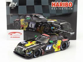 Mercedes-Benz AMG GT3 #8 9 ° 24h Nürburgring 2017 Haribo Racing Team 1:18 Spark
