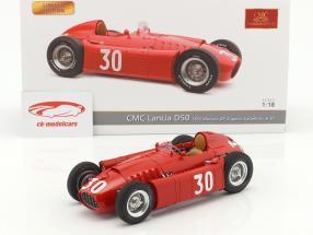 Lancia D50 #30 2nd Monaco GP Formel 1 1955 Eugenio Castellotti 1:18 CMC
