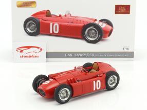 Lancia D50 #10 第2回 Pau GP 式 1 1955 Eugenio Castellotti 1:18 CMC