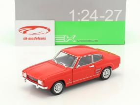 Ford Capri anno di costruzione 1969 rosso 1:24 Welly