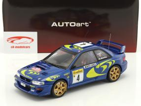 Subaru Impreza S3 WRC #4 vincitore Rallye Monte Carlo 1997 Liatti, Pons 1:18 AUTOart