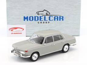 BMW 2000 TI année de construction 1966 gris clair 1:18 Model Car Group