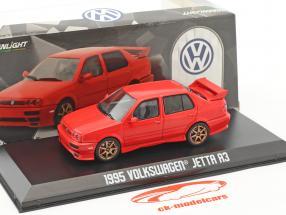 Volkswagen VW Jetta A3 Bouwjaar 1995 rood 1:43 Greenlight