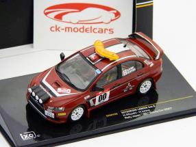 Mitsubishi Lancer Evo X Rally Japan 2007 #00 Safety Car 1:43 Ixo
