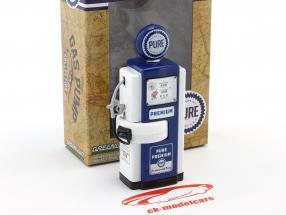 Wayne 100-A Pure Oil gas pump 1948 blue / white 1:18 Greenlight