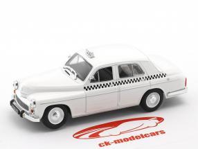 Warszawa 203 Taxi white 1:43 Altaya