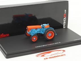 Lamborghini 2241 R trattore blu / arancione 1:43 Schuco