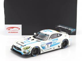 Mercedes-Benz AMG GT3 #1 5th 24h Nürburgring 2017 Team Black Falcon 1:18 Norev