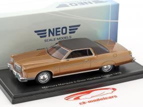 Mercury Marquis 2-Türer Hardtop Coupe year 1976 brown metallic 1:43 Neo