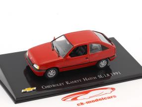 Chevrolet Kadett Hatch SL 1.8 anno di costruzione 1991 rosso 1:43 Altaya