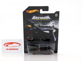 Batmobile DC Comics The Brave and the Bold noir 1:64 HotWheels