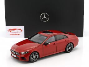 Mercedes-Benz CLS-Klasse Coupe C257 designo hyazinthrot metallic 1:18 Norev