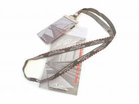 Michael Schumacher cordoncino argento / grigio