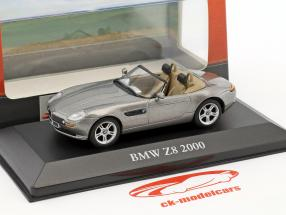 BMW Z8 Baujahr 2000 grau metallic 1:43 Atlas