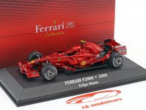 Felipe Massa Ferrari F2008 #2 2 formule 1 2008 1:43 Atlas