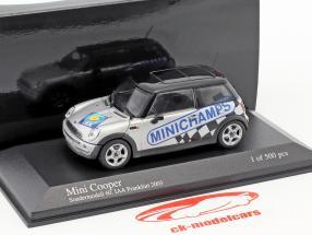 Mini Cooper IAA Frankfurt 2003 silver / black 1:43 Minichamps