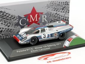 Porsche 917K #3 vincitore 12h Sebring 1971 Elford, Larrousse 1:43 CMR