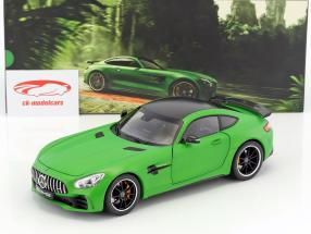 Mercedes-Benz AMG GT R Coupe matt grün 1:18 Norev
