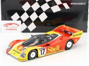 Porsche 962C #17 3rd 200 Meilen von Nürnberg 1987 Stuck, Bell 1:18 Minichamps