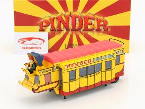 Auflieger Creperie / Snack Bar Pinder Zirkus gelb / rot 1:43 Direkt Collections