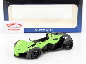 BAC Mono Roadster anno di costruzione 2011 verde 1:18 AUTOart