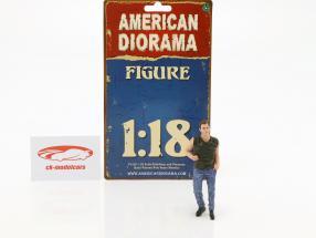 50s Style figura III 1:18 American Diorama
