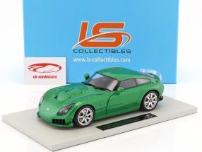 TVR Sagaris Baujahr 2005 grün metallic 1:18 LS Collectibles